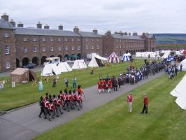 Fort George Encampment 01 by Axy-stock