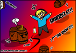 BARRELS!!! by xShiro-no-Musumex