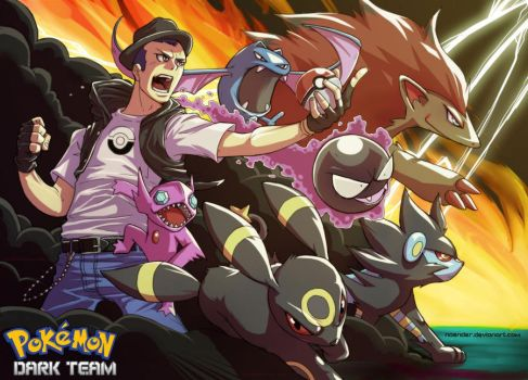 Pokemon Dark Team by NOENDER