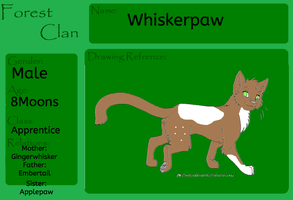 Whiskerpaw (OC) by PerkyPitch