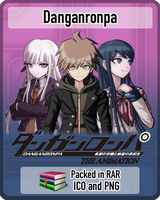 Danganronpa : The Animation Anime Icon by amirovic