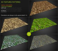 Free Textures Pack 61 by Nobiax