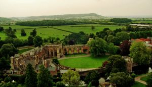 Bishop's Palace From Above by EarthHart