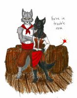 You're in Trouble Now by Simatra
