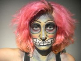 Crazy Goblin Makeup by XxXTABSXxX
