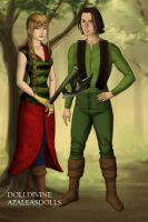 Hiccup and Astrid by kikan09