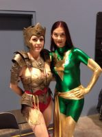 Injustice Wonder Woman and Phoenix by PhoenixofThemyscira