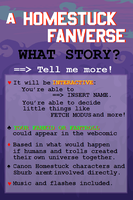 HOMESTUCK NEW FANVENTURE - WHAT STORY? by AcidMohawk