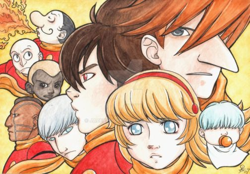 Cyborg 009: AX Commission by JadePrince