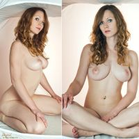 nude in the soft box by redcabaret