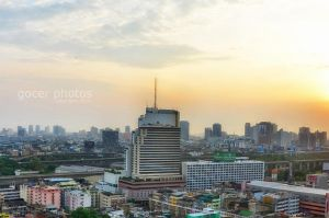 Sunrise in Bangkok by gocer-art