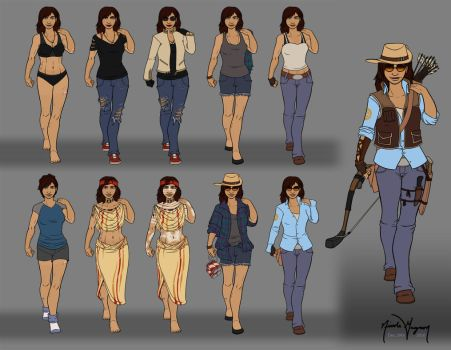 Tell Harris - Outfits by leighanief