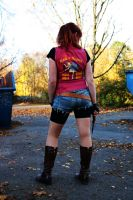 Claire Redfield - Darkside Made In Heaven by ChaoticClaire