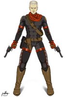 MGS - OCELOT'S ANTI-STEALTH SUIT by purinrinrin