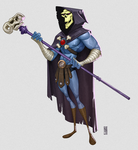 Skeletor by CamaraSketch