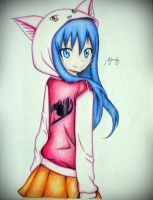 Traditional Coloring - Wendy Marvel by Lemnel24