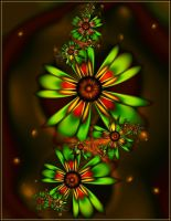 ultra fractal wallpaper flowers by SvitakovaEva