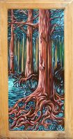 Cypress Trees by rudat