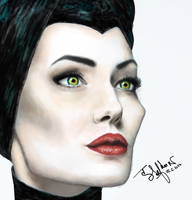 Maleficent by Crystiee