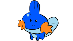 Baby Mudkip 1 by ZacAvalanche