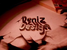 text 3d by deniz-dsgn