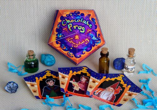 Chocolate Frog Box by BeyondThePines