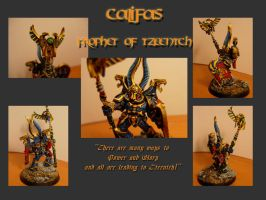 Califas - Prophet of Tzeentch by DuskFennec