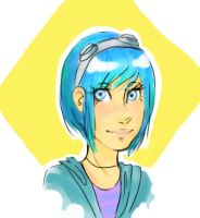 ramona flowers. by skepsisbanana