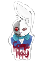 Jack the Rabbit Come Play by WolvesPoniesOhMy