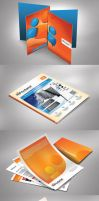 Mock Up with Identity Design Template by mucahitgayiran
