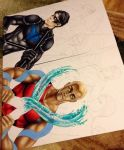 Young Justice WIP by animaddict