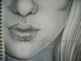 Lucille - Details Lips by DarkGirlDrawings