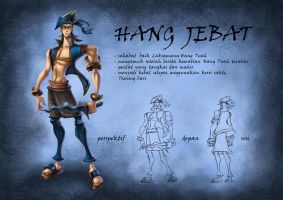 Hang Jebat by bramLeech