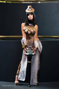 Menace - Queens Blade 2 by ZOMBIEBITME