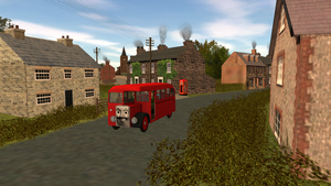 The Village Bus by SudrianAfro