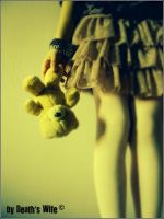girl with bear (she is my sister)) by deathswife666