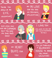 Mother 3 Valentines by Shimasteam2112