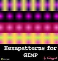 Hexapatterns for GIMP by kelzygrl