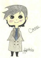 Cas is a cute penguin-thing IDEK by Magnexx