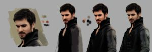 Process: Killian Jones by DominiqueWesson