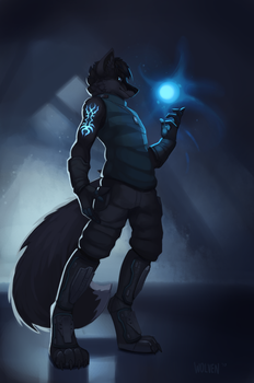 Energy [Commission] by ItsWolven