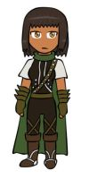 CP - Aveline chibi by PuddingValkyrie