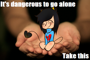 Its Dangerous To Go Alone by Ask-Mitsuki