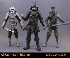 Samurai Wars: Villains by sillof