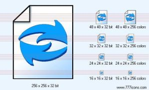 Refresh document Icon by TheTech9