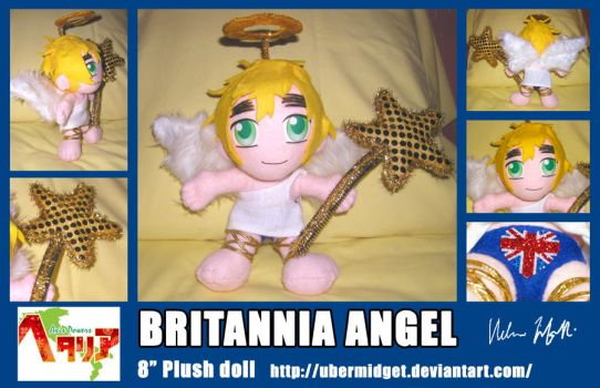 APH Britannia Angel plush by Ubermidget