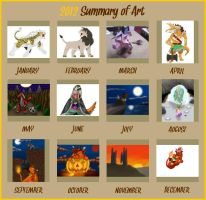 Summary of Art 2012 by Icedragon300