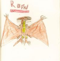 rodan by mothmanb