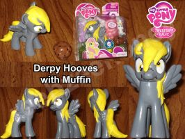 Derpy Hooves and Muffin - Full Size - FOR SALE by Stitchfan