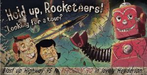 Hold Up, Rocketeers! by FalloutPosters